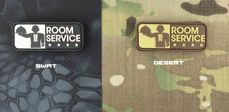 MSM Room Service Patch - PVC