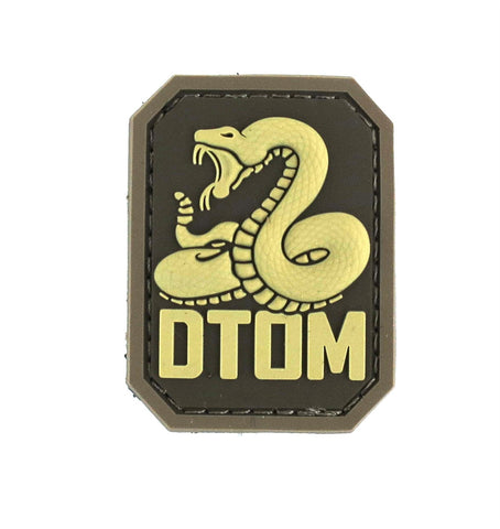 MSM DTOM Patch - PVC