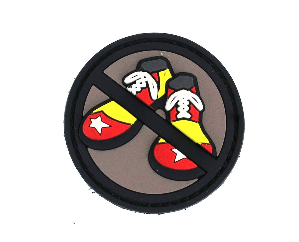 MSM No Clown Shoes Patch - PVC