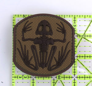 MSM Frog Skeleton Patch - PVC