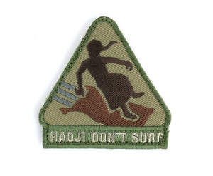 MSM Hadji Don't Surf Patch
