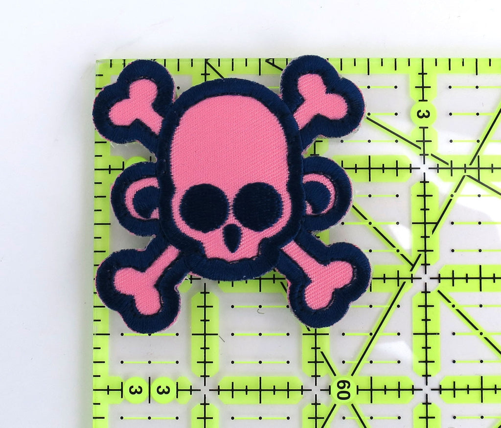 MSM Skullmonkey Crossbones Patch