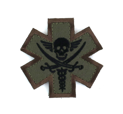 MSM Tactical Medic Pirate Patch