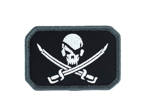 MSM PirateSkull Flag Patch