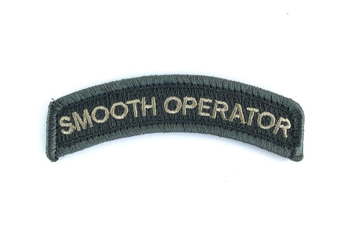 MSM Smooth Operator Patch