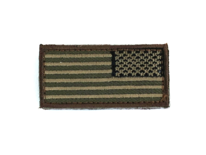 MSM US Flag Reverse Mini Patch