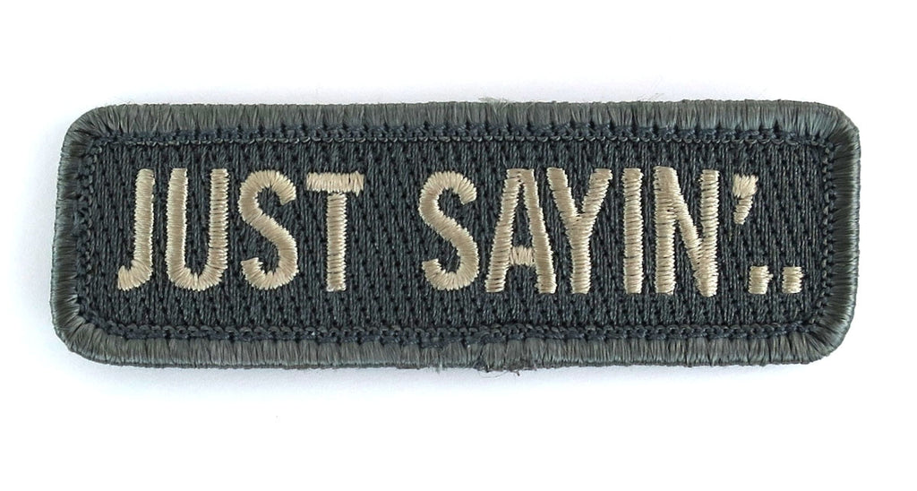MSM Just Sayin' Patch