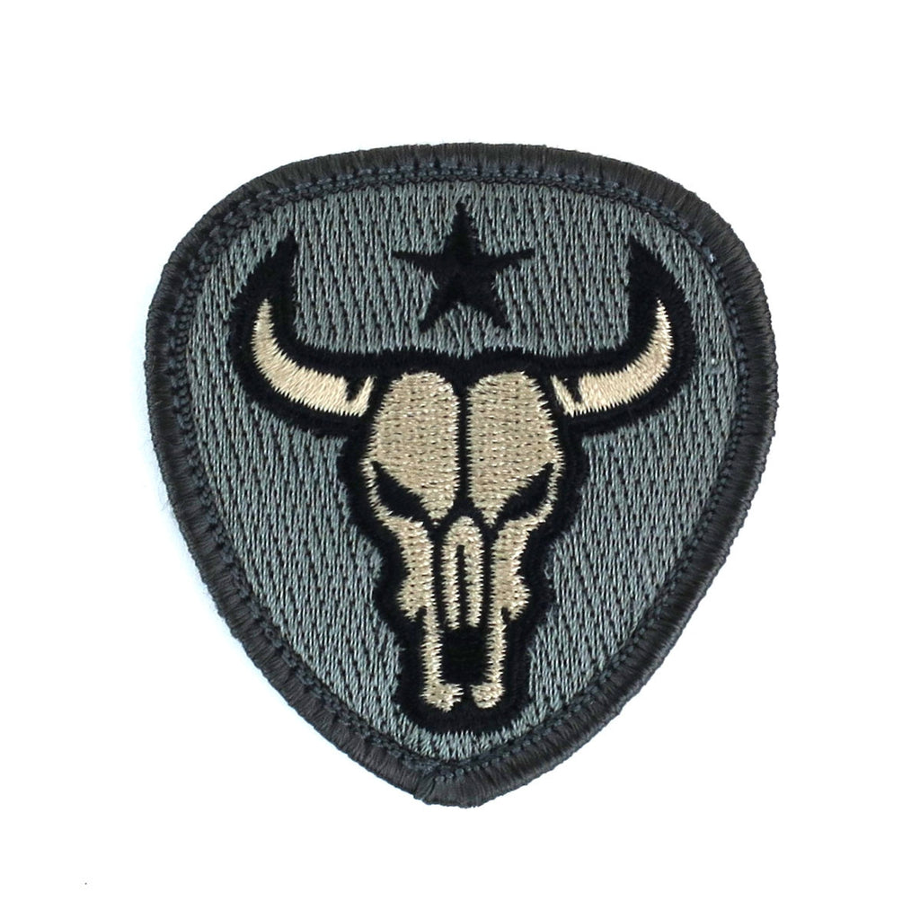 MSM Bull Skull Patch