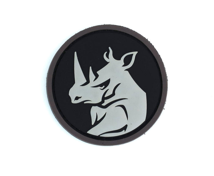 MSM Rhino Head Patch PVC