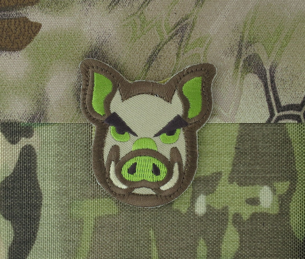 MSM Pig Head Patch