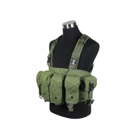 DEFCON AK Tactical Chest Rig Vest - OD
