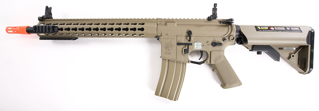 Knight's Armament SR-16E3 Mod.2 Carbine AEG (Tan)