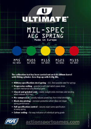 ASG Ultimate Upgrade Spring AEG