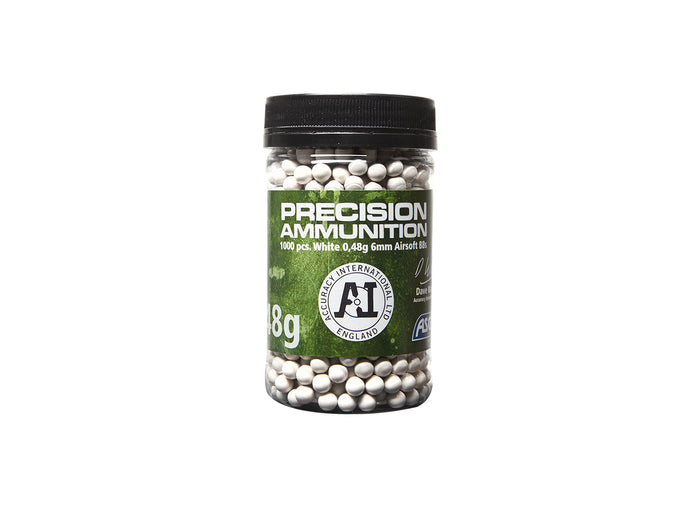 ASG .48g BBs White 1000 Count Bottle