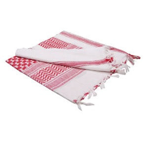 Condor Outdoor Shemagh (Red / White)