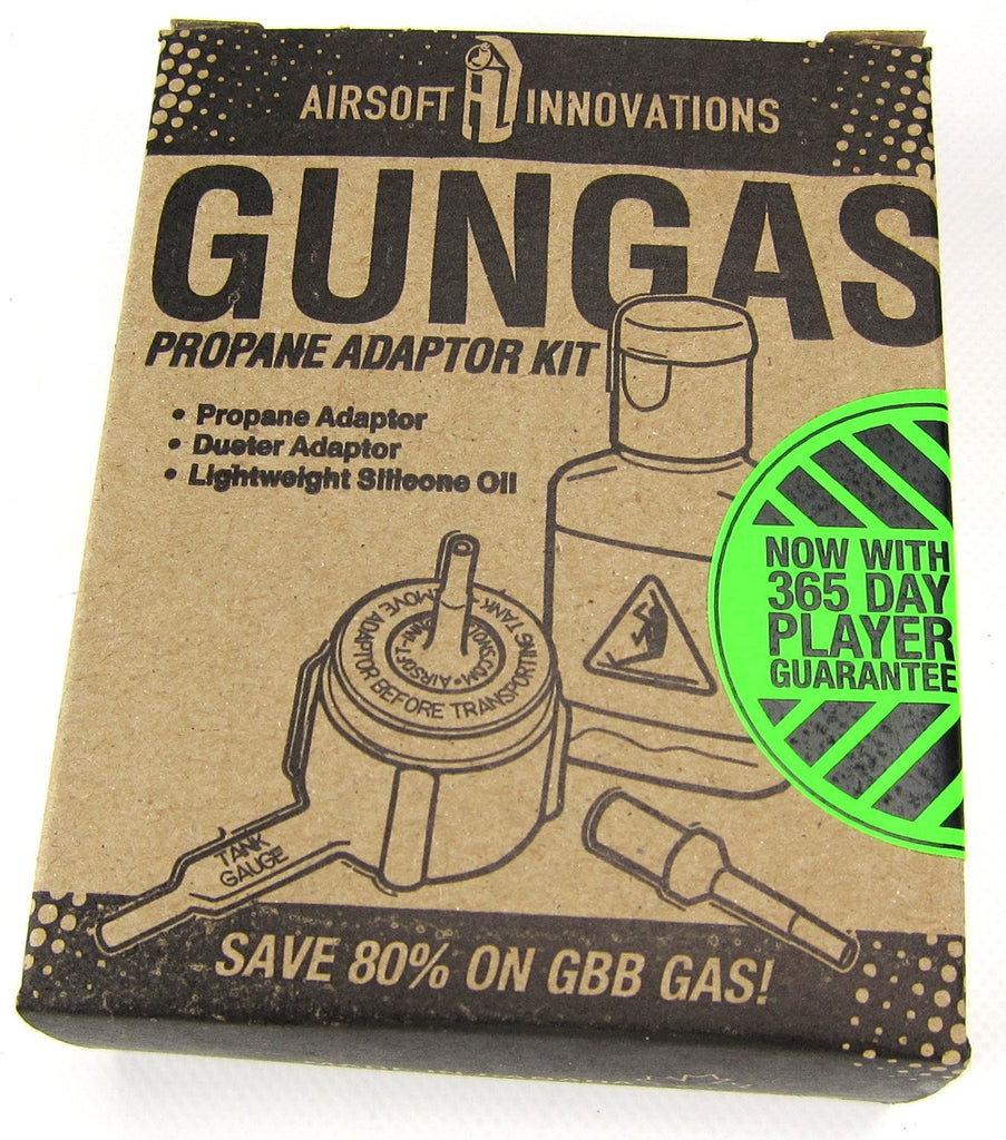 Airsoft Innovations Gungas Propane Adaptor Kit - Airsoft Atlanta