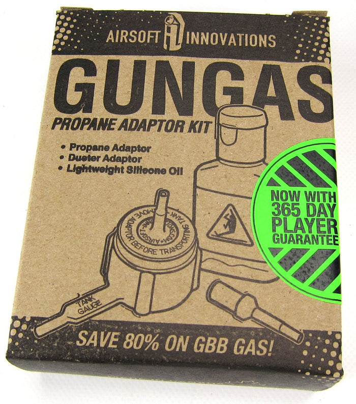 Airsoft Innovations Gungas Propane Adaptor Kit