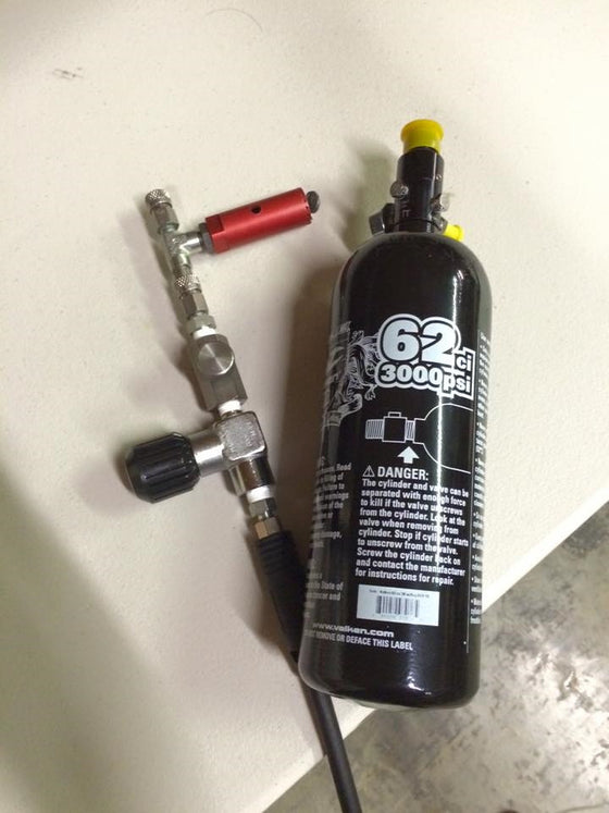 3000 PSI HPA Tank Air Refill - in store only - Airsoft Atlanta