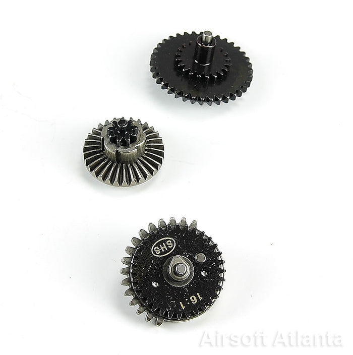 Rocket Airsoft AEG Gear Set - High Speed (16:1 gear ratio - 2013 Edition)