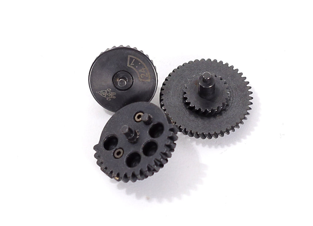 Rocket Airsoft AEG Gear Set SHS - High Speed 24:1 Ratio