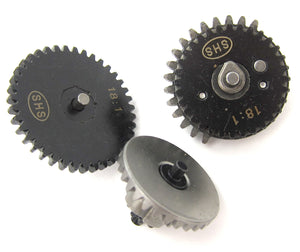 SHS Steel AEG Gear Set - Standard (18:1 gear ratio - 2013 Edition)
