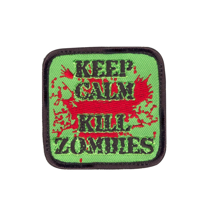 Warhead Keep Calm Kill Zombies Morale Patch
