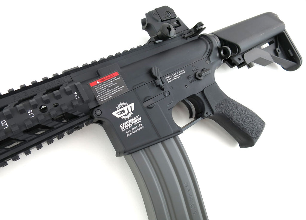 G&G Combat Machine CM16 Raider AEG Short - Black