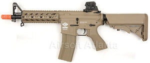 G&G Combat Machine CM16 Raider AEG Short - Desert Tan