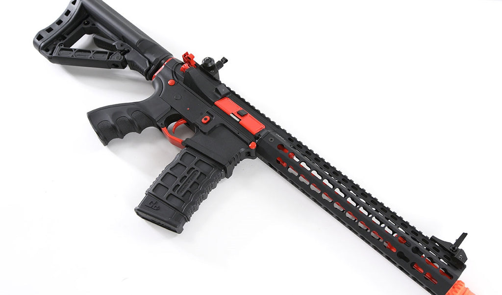 G&G Combat Machine CM16 SR-XL AEG (Edition Red)