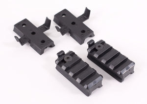 Lancer Tactical Plastic Helmet Rail Set
