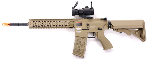 G&G Combat Machine CM16 R8-L AEG - Desert Tan (Scope and Gun)