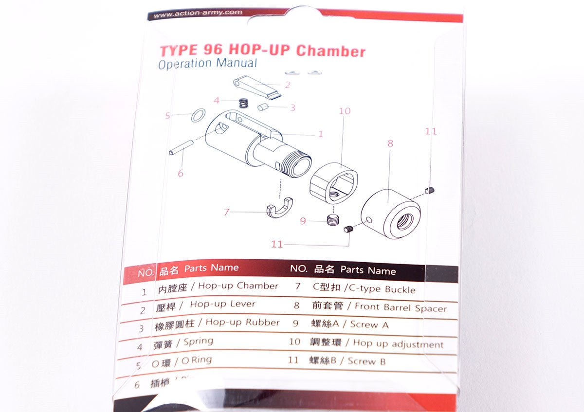 Action Army Type 96 Hop Up Chamber