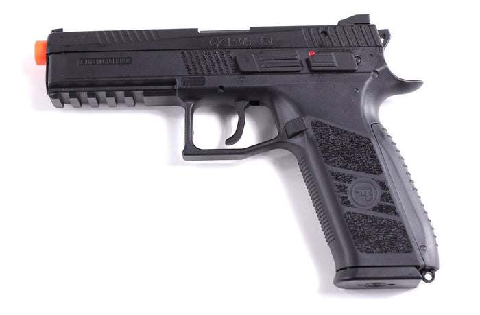 ASG CZ P-09 Green Gas Gun Black