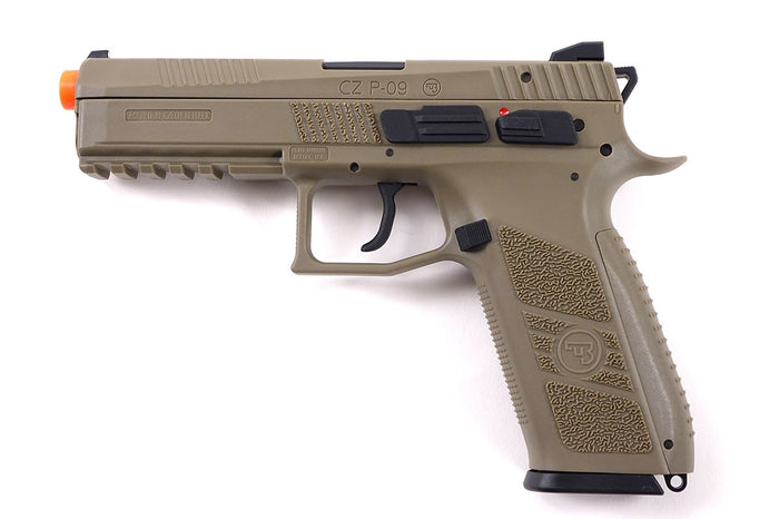 ASG CZ P-09 Duty Green Gas Gun (Tan)