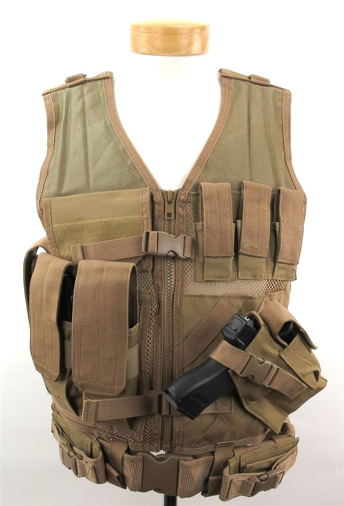 NcSTAR Crossdraw Tactical Vest (Adult)