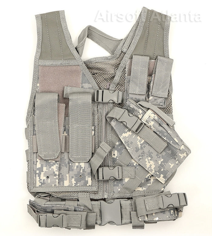 NcSTAR Child Kid's Size Crossdraw Tactical Vest