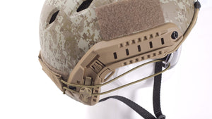 Warhead Helmet Attachment Auxiliary Line for Goggles
