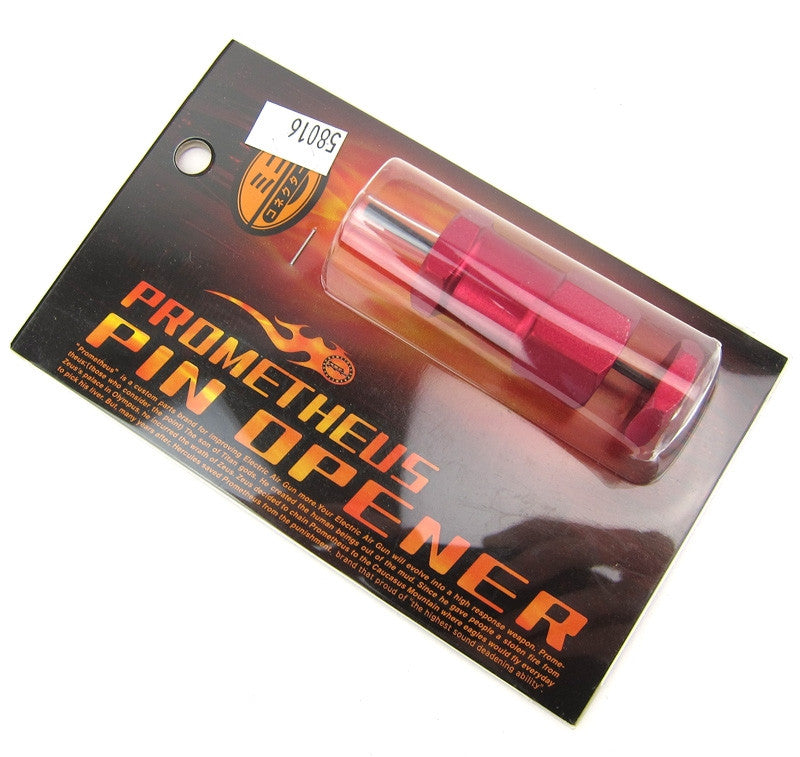 Prometheus Pin Opener for Mini Connector (Red)