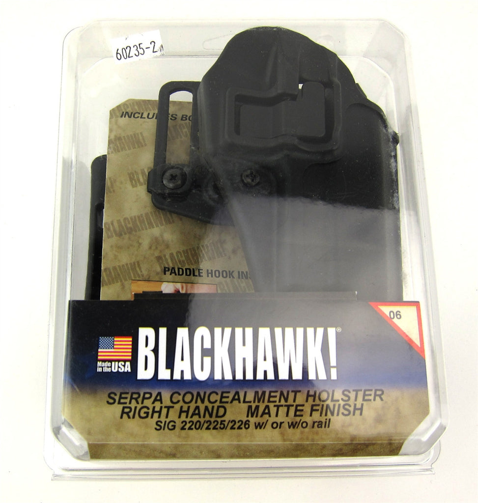 Blackhawk CQC SERPA Holster - Sig 220, 225, 226 - Airsoft Atlanta