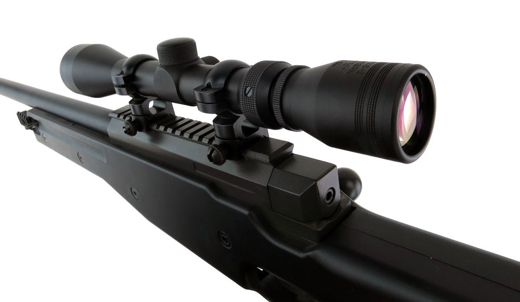 NcSTAR 3-9x40 Rifle Scope (includes Rings)