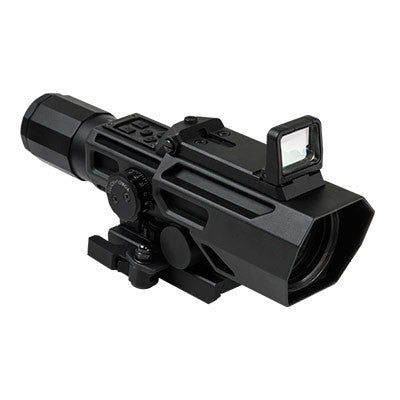NcSTAR ADO 3-9X42 Scope w/Flip Up Red Dot Optic
