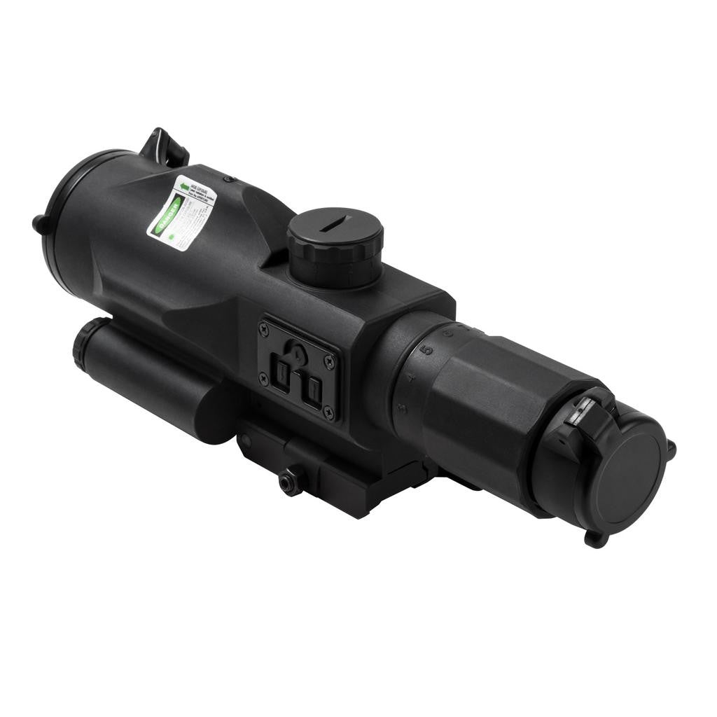 NcSTAR GEN3 SRT 3-9X40 Scope w/Green Laser/P4 Sniper