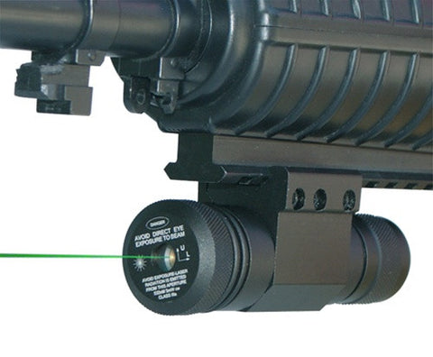 NcSTAR Green Laser with Rail Mount and Pressure Switch (APRLSG)