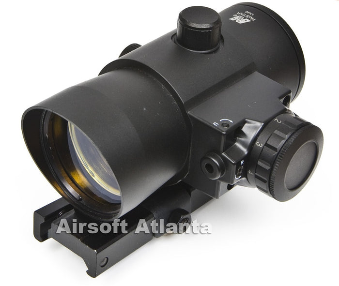 NcSTAR 40mm Red Dot w/ Laser and QD Rail Mount - DLB140R
