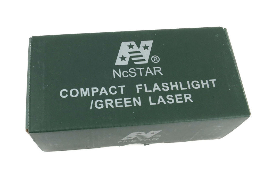 NcSTAR Flashlight and Green Laser with Rail Mount (AQPTFLG)