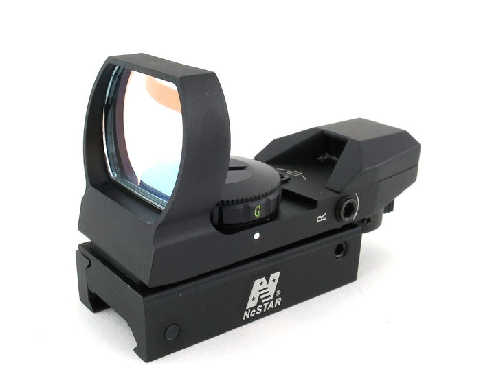 NCStar 4 Reticle Red/Green Dot Sight - D4RGB