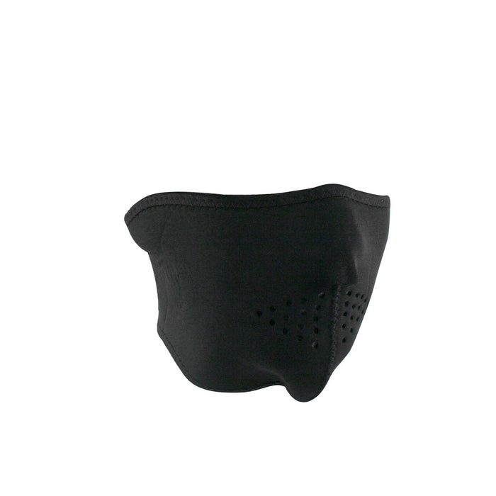 Zan Headgear Neoprene Half Face Mask (Black)