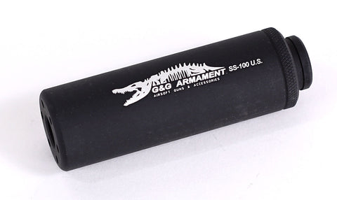 G&G SS-100 Suppressor (Black, 14mm CCW)