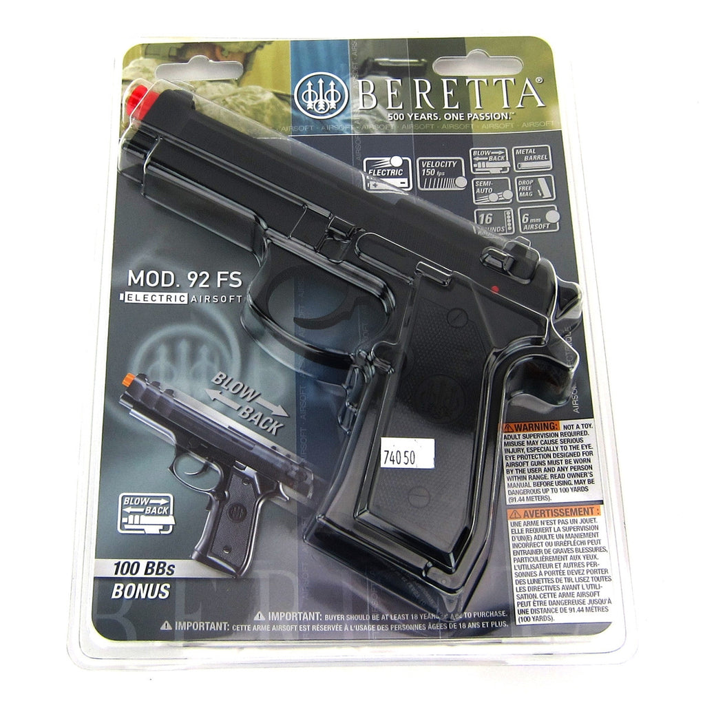 Beretta 92FS Electric Pistol - Airsoft Atlanta
