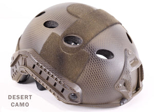 Tactical Helmet w/ NVG Mount and Side Rails